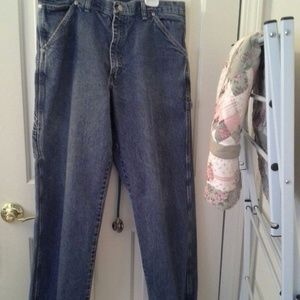 Wrangler Jeans 34X30 Denim Utility/Painter's Pants